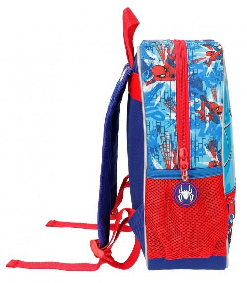 2382161 mochila 28 cm spiderman street lateral