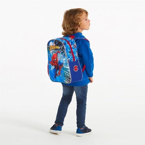 2382261 mochila 33cm 3 Dimensiones Spiderman Street detalle