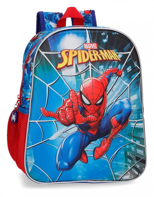 2382261 mochila 33cm 3 Dimensiones Spiderman Street