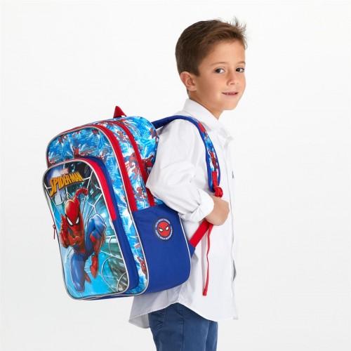 2382461 mochila 40 cm doble compartimento spiderman street detalle