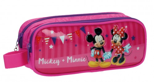 Portatodo Doble Compartimento Mickey & Minnie 2694251