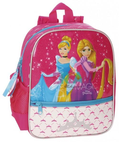 Mochila Adaptable Princesas 28 Cm 28721A1