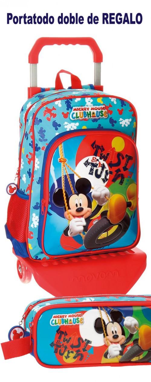 Mochila con carro Mickey 28823M1