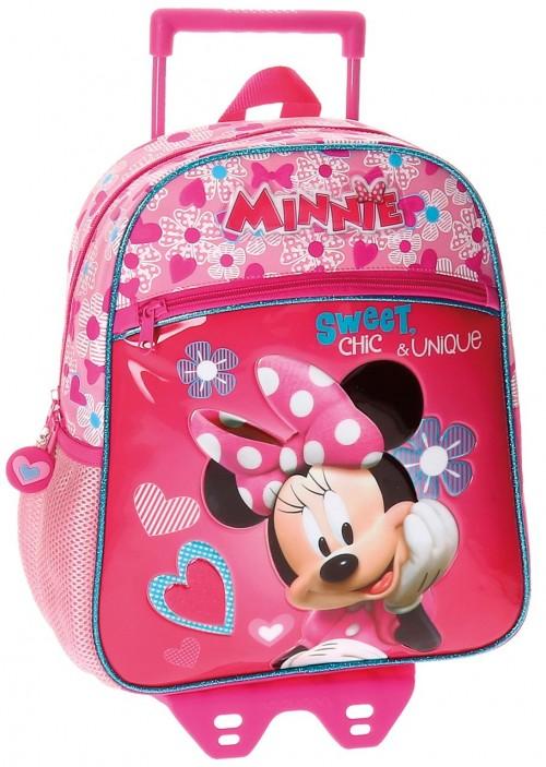 Mochila Carro Minnie 33 Cm 28922M1