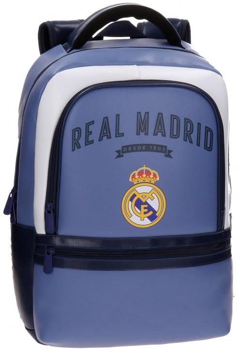 4982351 mochila portaordenador adaptable real madrid