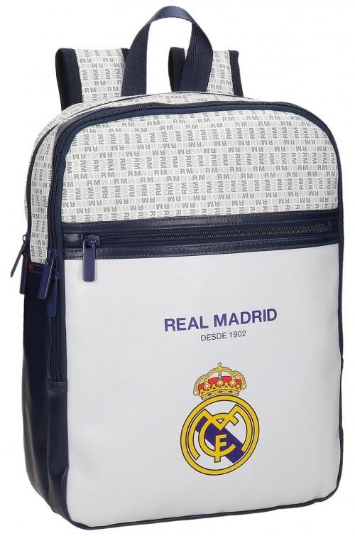 Mochila Urbana Portaordenador Real Madrid Blanca 5482251