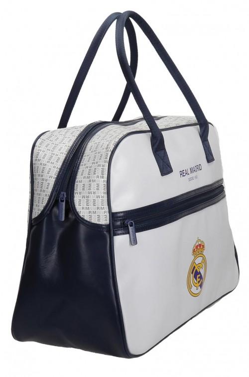 Bolsa de Viaje Real Madrid Blanca 5483551 lateral