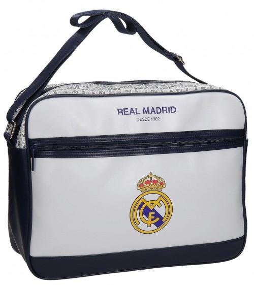 Bandolera Portaordenador Real Madrid Blanca 5485051