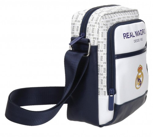 Bandolera Real Madrid Blanca 5485251 lateral