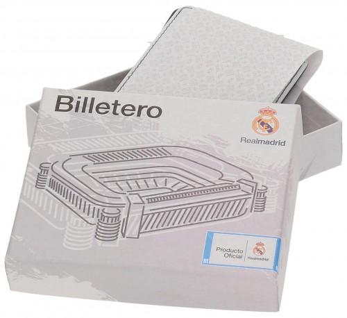 Billetero Real Madrid Blanco 5488151 presentación en caja