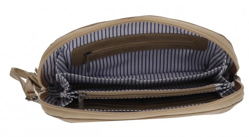 Bolso de Mano Pepe Jeans Camel 7684151 interior