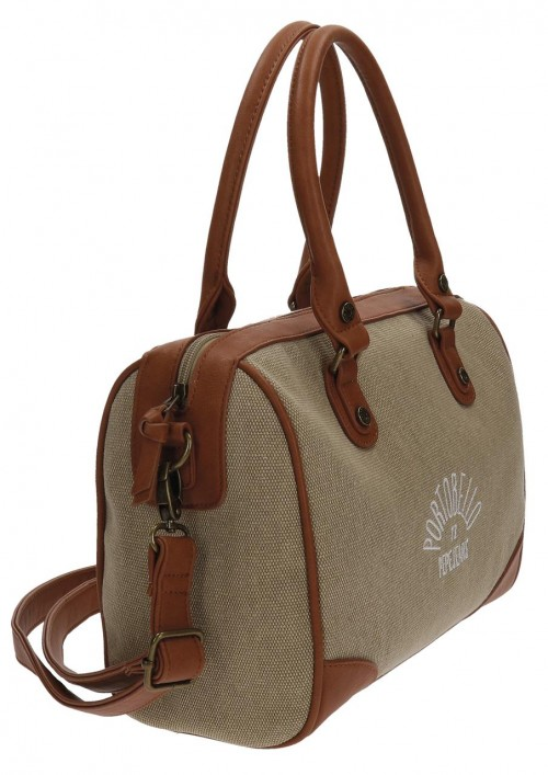 Bolso Pepe Jeans Camel 7697151 lateral
