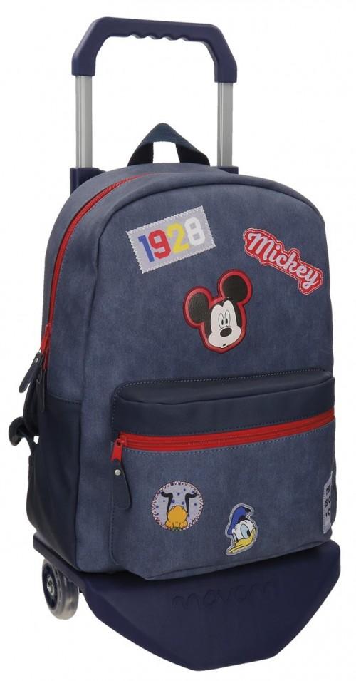 Mochila Mickey Carro 30123N1