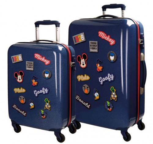 3017261 juego maletas cabina y mediana mickey