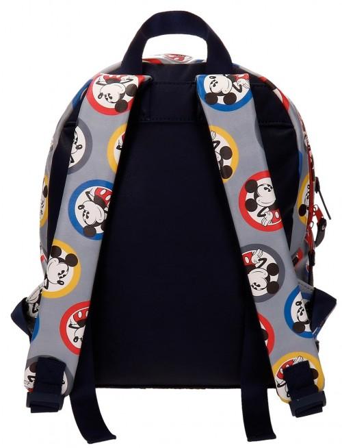 Mochila de 32 Cm Mickey 3022261 dorsal