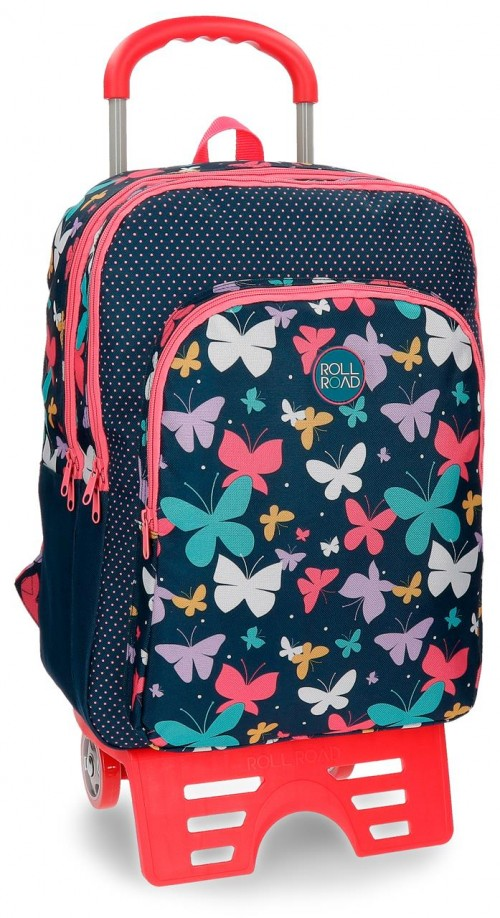 Mochila Carro Doble  Roll Road Butterfly 52324N1