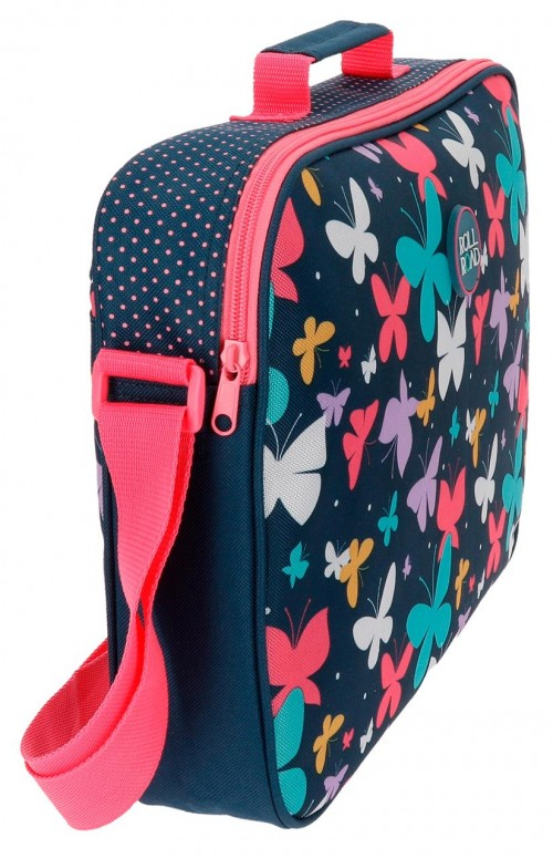 Cartera Extraescolar Roll Road Butterfly  5235361 lateral