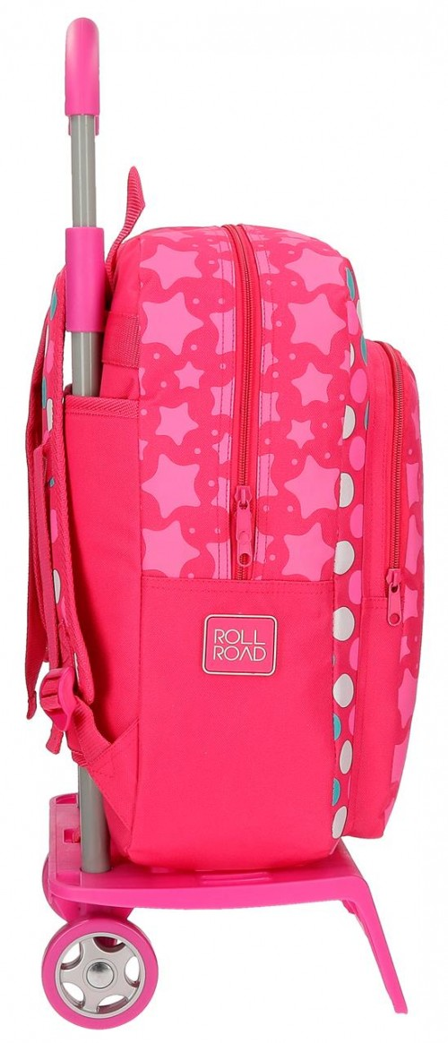 Mochila Carro Roll Road Stars  52423N1 lateral