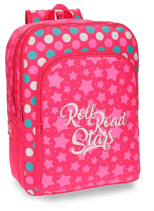 Mochila Doble Roll Road Stars 52424B1
