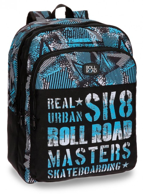 Mochila Doble Roll Road Stars 52524B1
