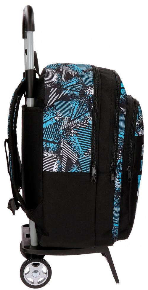 Mochila Doble Roll Road Stars 52524N1 lateral