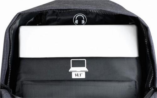 """Mochila Portaordenador 14.1"""" 641735819 interior 2"""