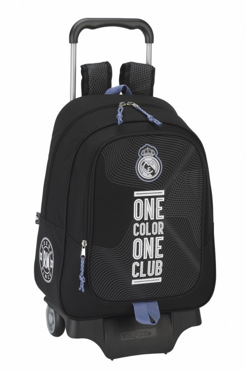 Mochila con carro Real Madrid Black 611757313