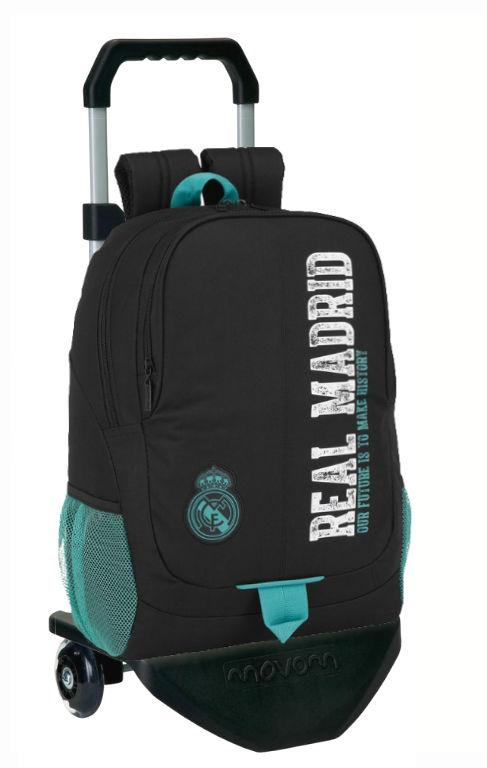 611777313 mochila con carro real madrid black