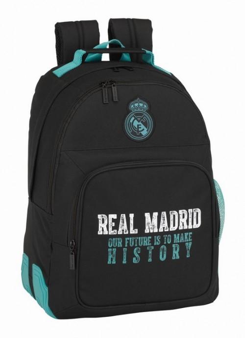 611777773 mochila reforzada real madrid black