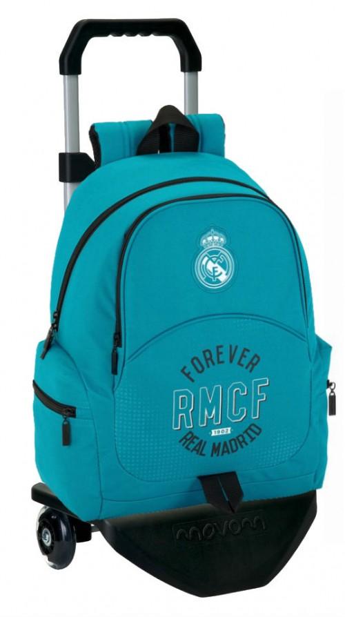 611857313  mochila carro real madrid forever