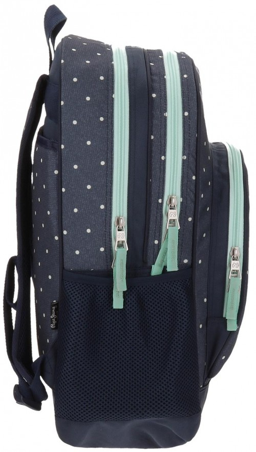 Mochila Doble adaptable Pepe Jeans 65925A1 lateral