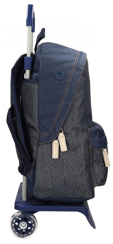 Mochila Carro Pepe Jeans 66223M1 lateral