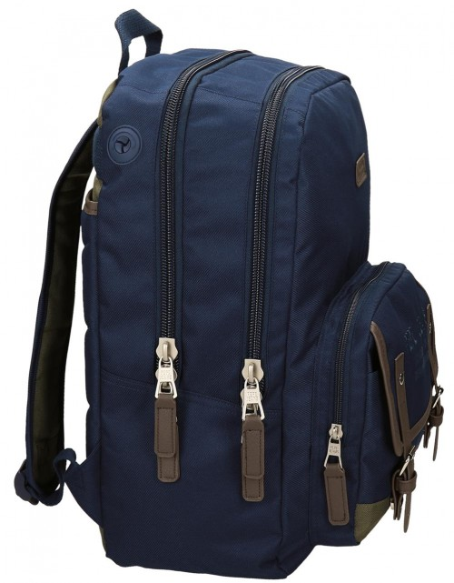 Mochila Adaptable Pepe Jeans 66624A1  lateral