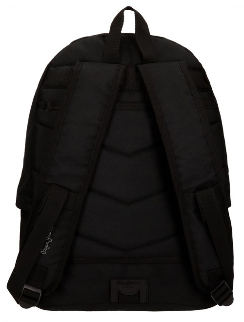 Pack Mochila + Portatodo Pepe Jeans 66823A1-3 dorsal