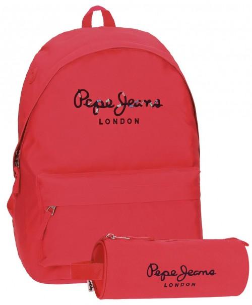 Pack Mochila Pepe Jeans + Portatodo 66823A2
