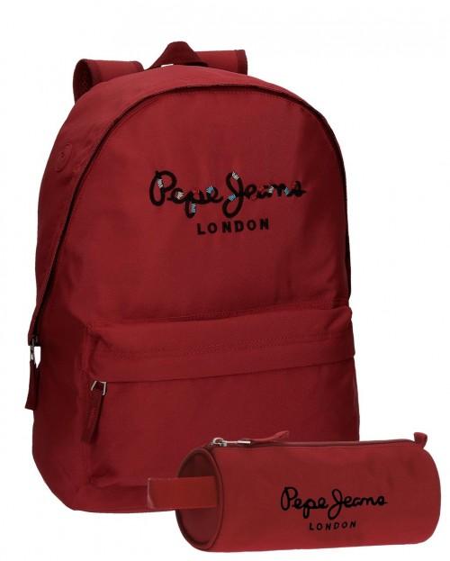 Pack Mochila Pepe Jeans + Portatodo 66823A5