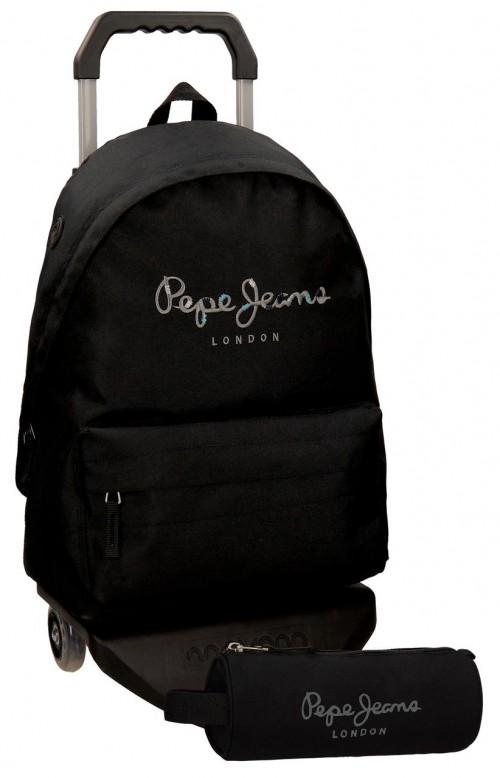 Pack Mochila Carro Pepe Jeans + Portatodo 66823M1