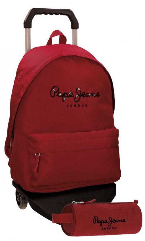 Pack Mochila Carro Pepe Jeans + Portatodo 66823M5