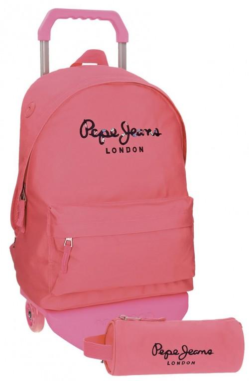 Pack Mochila Carro Pepe Jeans + Portatodo 66823M7
