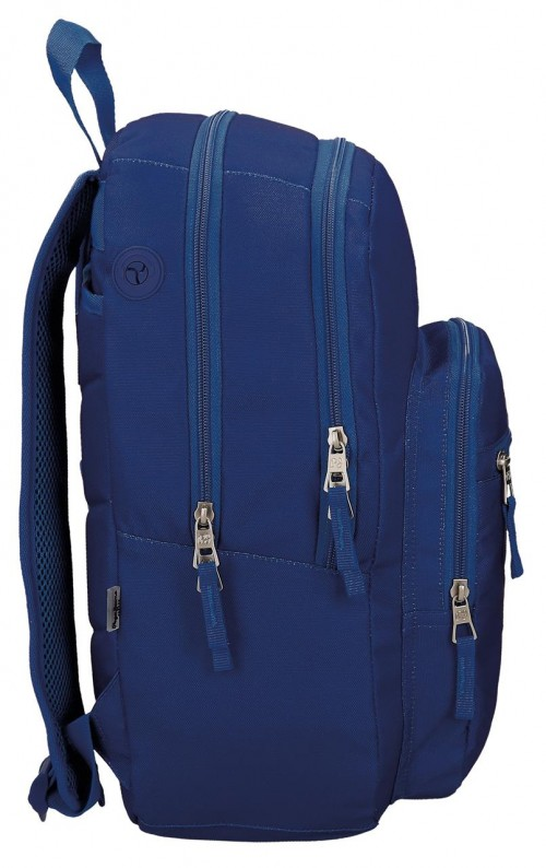 Mochila Doble Pepe Jeans Harlow  66824A3 lateral