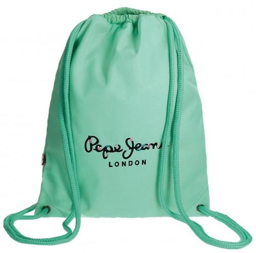 Gym Sac Pepe Jeans turquesa 6683858