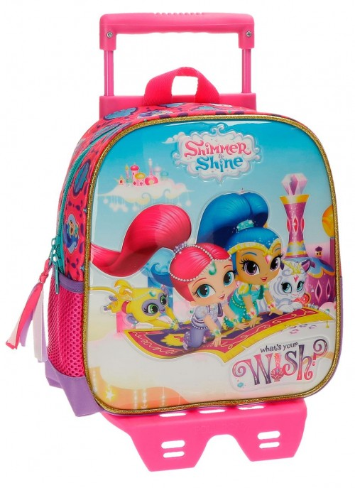 Mochila Carro 25 cm Shimer and Shine Wish 20320N1