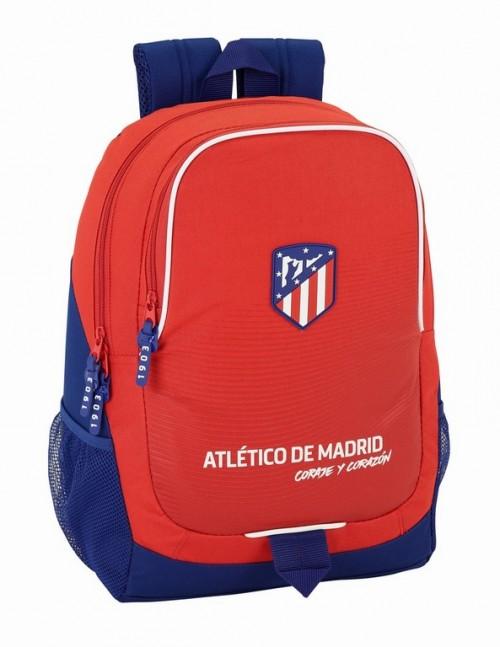 611858665 Mochila Grande con red lateral Atlético de Madrid Coraje