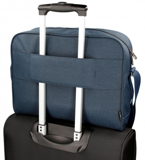 Bandolera Portaordenador Pepe Jeans 7565052 azul adaptable
