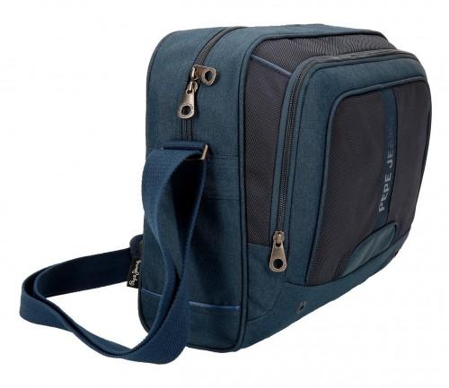 Bandolera Portaordenador Pepe Jeans 7565052 azul lateral