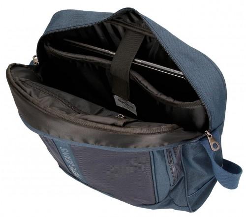 Bandolera Portaordenador Pepe Jeans 7565052 azul interior