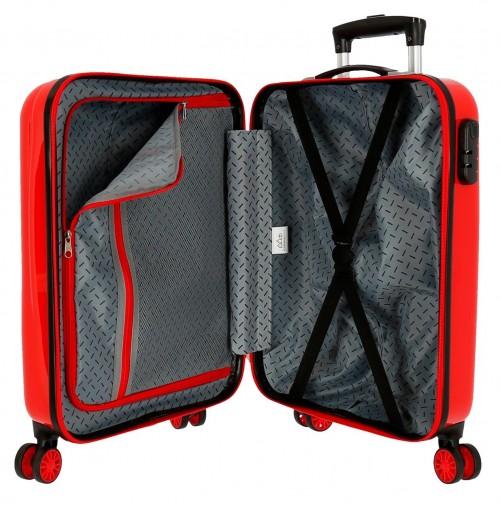 2041722 maleta infantil lightning mcqueen rojo interior
