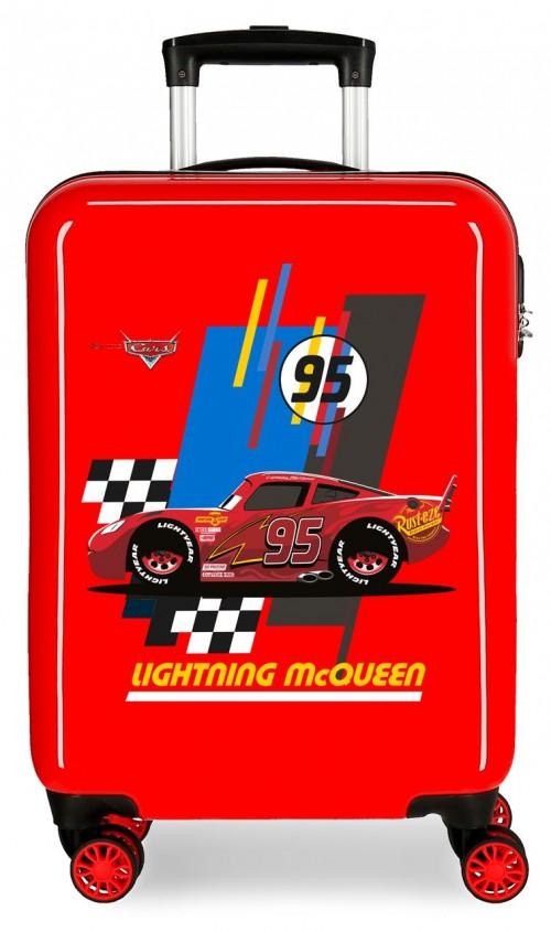 2041722 maleta infantil lightning mcqueen rojo