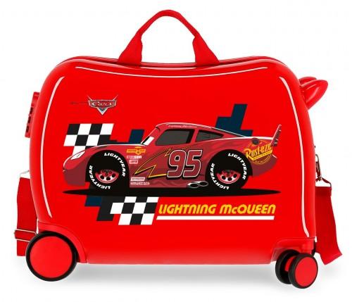 2049822 maleta correpasillos lightning mcqueen rojo