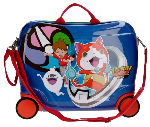 20499C1 maleta infantil 4 ruedas yokai